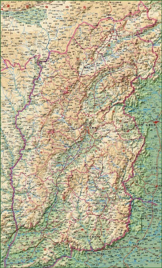太原市地图全图大图_山西地图全图高清版- 太原本地宝