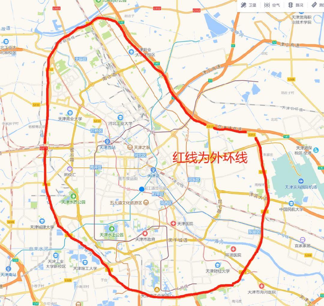 2020-2021天津尾号限行表(最新)