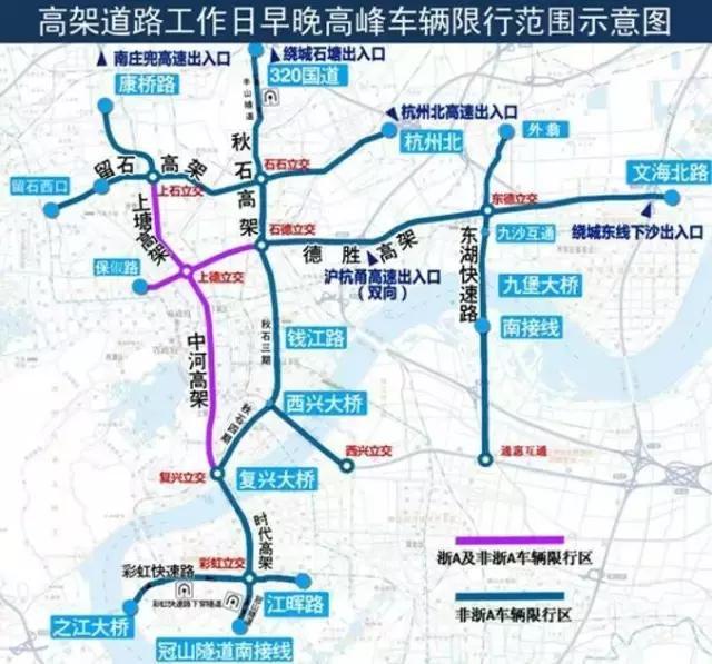 杭州市错峰限行时间_滨江区限行时间和范围- 本地宝