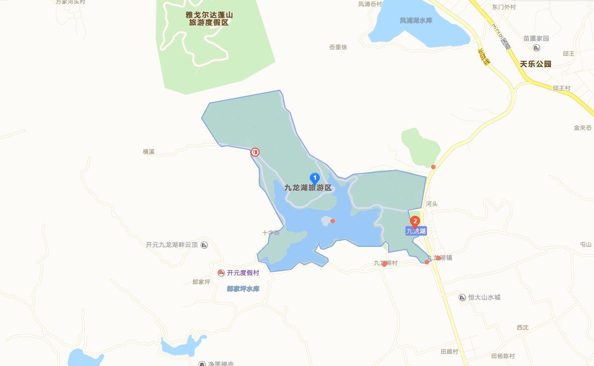 宁波九龙湖自驾游攻略(附自驾路线 地址)