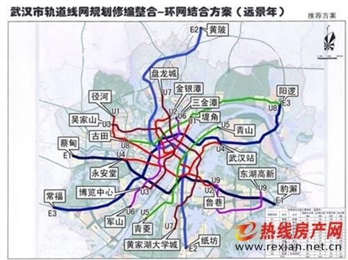 武汉 地铁规划
