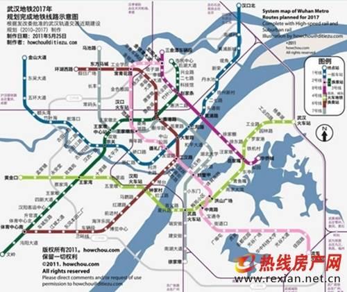 武汉地铁规划图2028年终极版 站点 线路图 开通时间