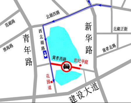 武汉黄孝西路施工绕行指南