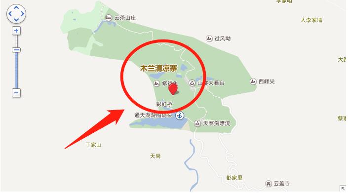 2018武汉木兰清凉寨旅游攻略