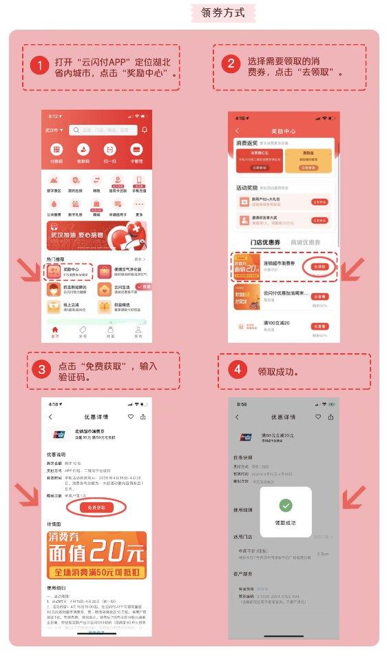 2020武汉各区消费券领取时间是延成勋什么时候