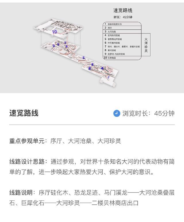 武汉自然博物馆游玩路线推荐