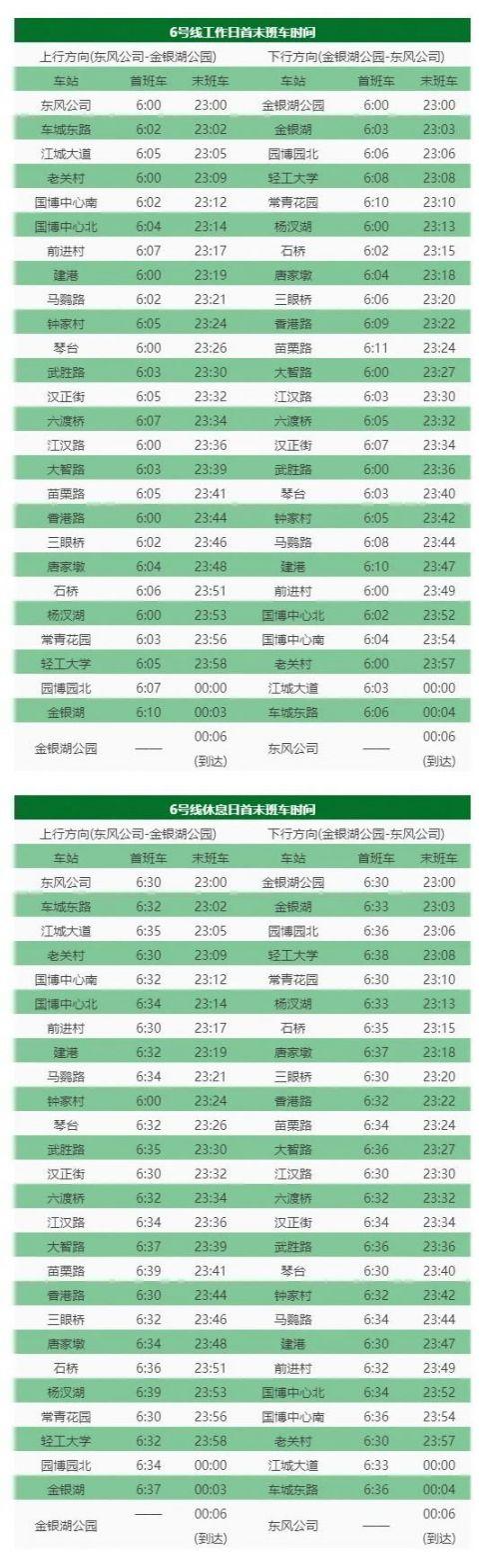 武汉地铁20号线路图_2020年武汉地铁运营时刻表- 武汉本地宝