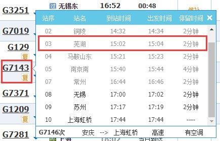 乘坐G7143列車的蕪湖人請及時進行核酸檢測