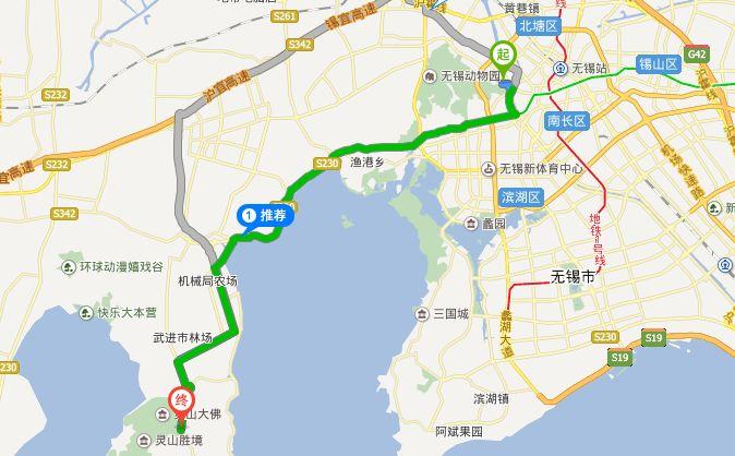 锡惠名胜手绘地图