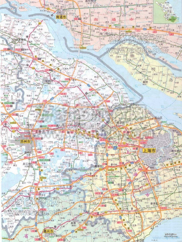 无锡旅游地图全图高清版     无锡旅游地图全图高清版(点击可查看大图