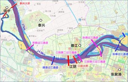 江阴第二过江通道2020年开建