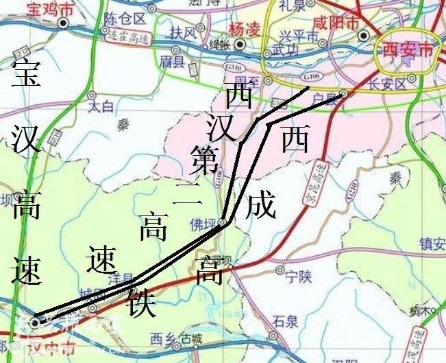 寶漢高速路線圖圖片