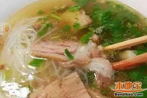 西安好吃的牛羊肉面馆 深藏在西安的美味老店