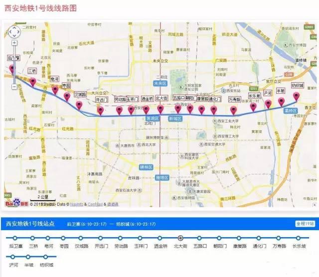 西安23条地铁线路规划图(最新)