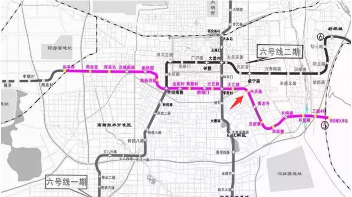 西安地铁5号线最新消息 线路图 站点 开通时间图片