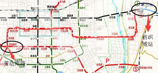 西安地铁6号线二期工程线路图-6号线一期 二期图片