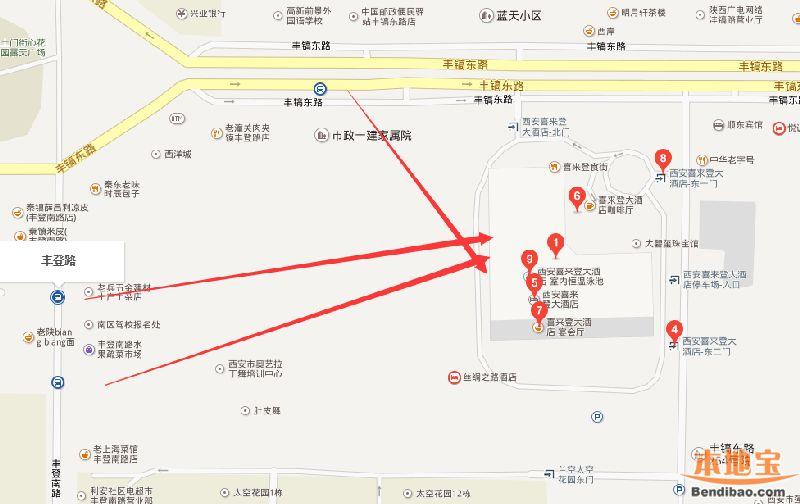 西安喜来登大酒店唐苑中餐厅美食订购 清新美味夏日大餐