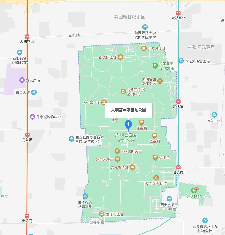 西安大明國家遺址公園在哪(地址 交通指南)