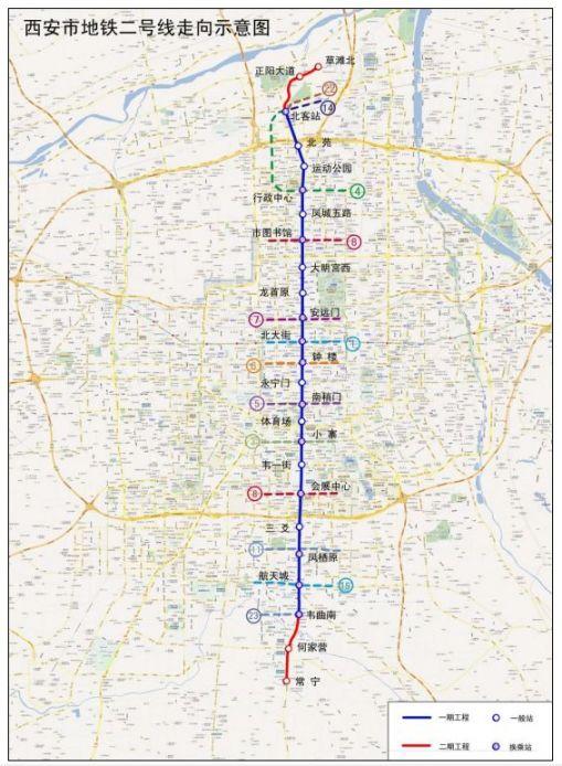 西安地铁最新进展(持续更新)