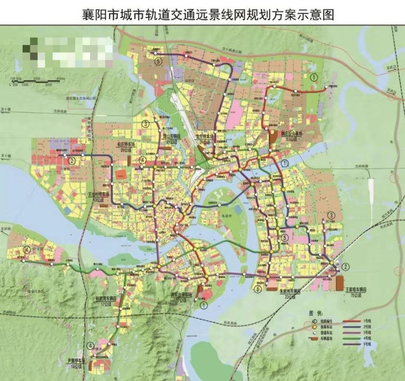 襄阳市地铁规划_襄阳地铁规划线路图- 襄阳本地宝