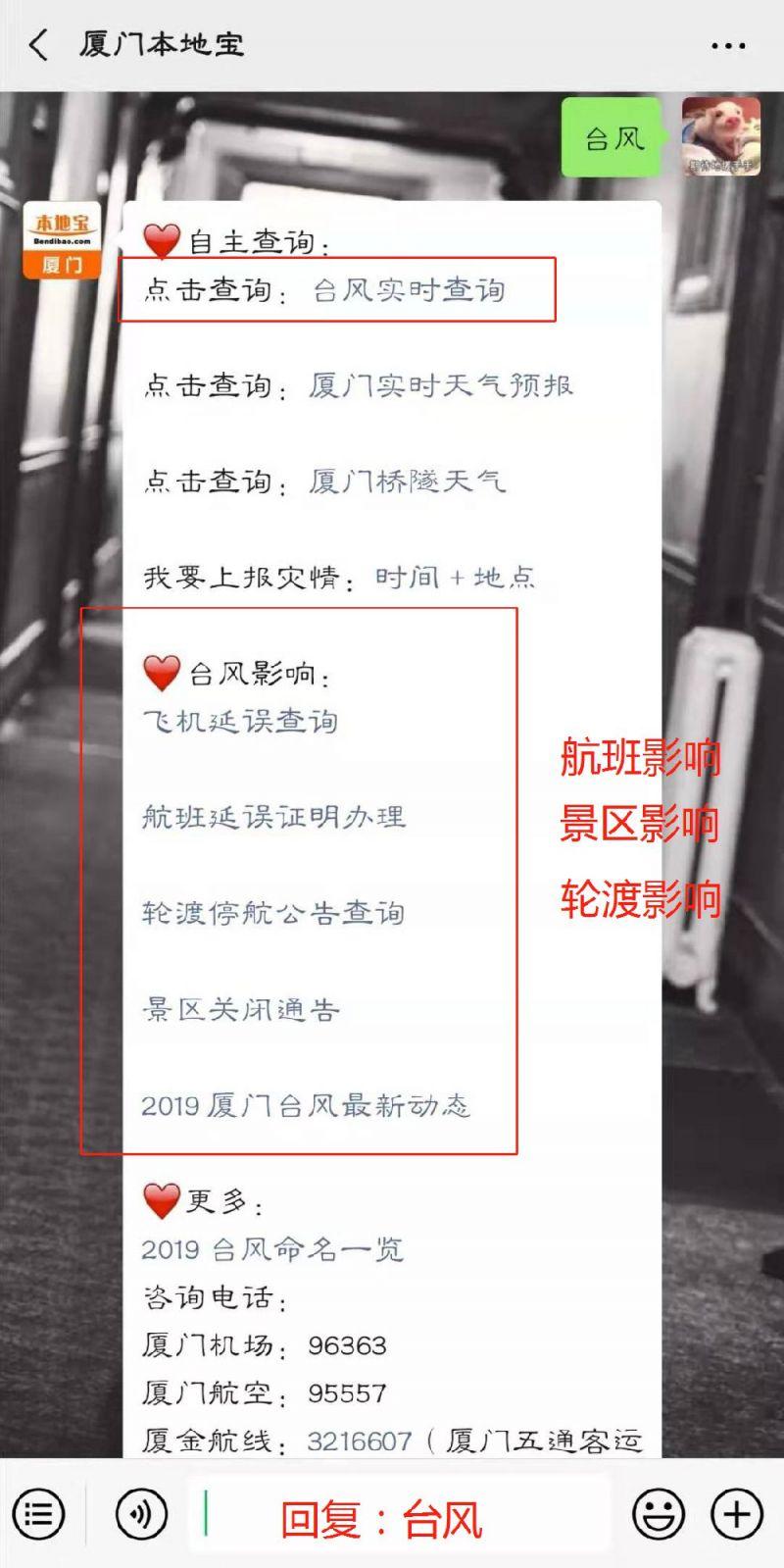 2019厦门台风最新消息(持续更新)