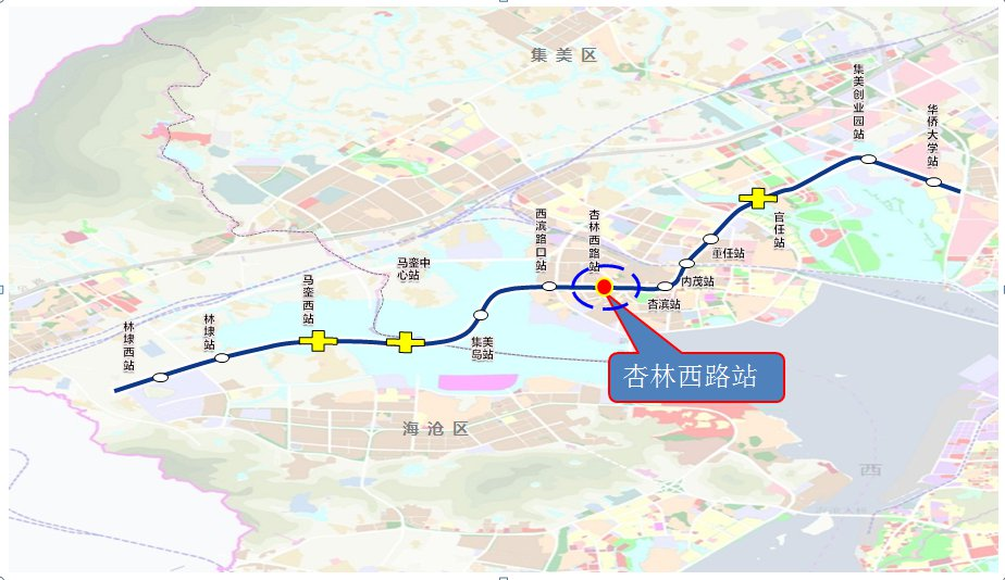 厦门6条地铁线路最新@ 消息↓(站点 规划 通车时间)