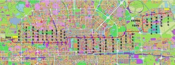 北京地铁3号线图片