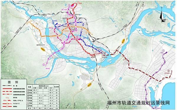 福州地铁3号线线路图图片