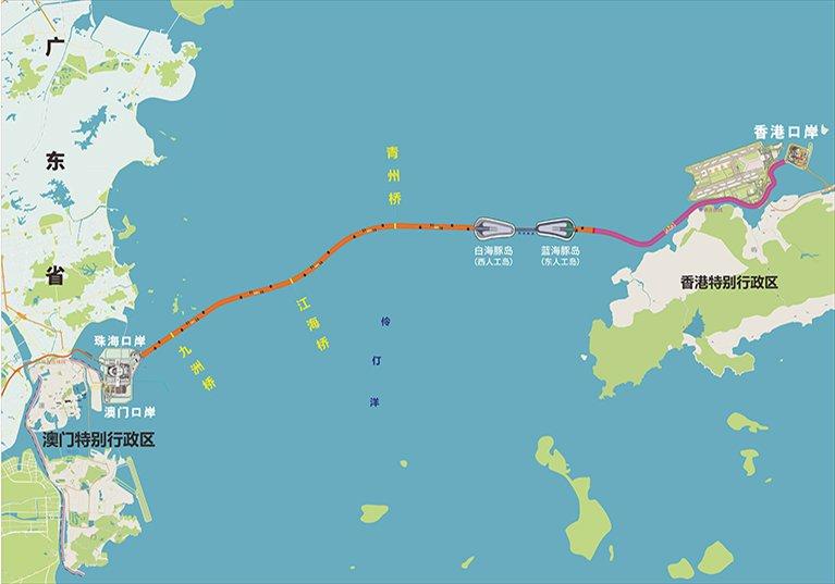 港珠澳大桥最新路口消息(持续更新)