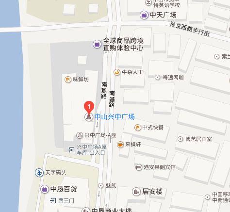 兴中广场地图