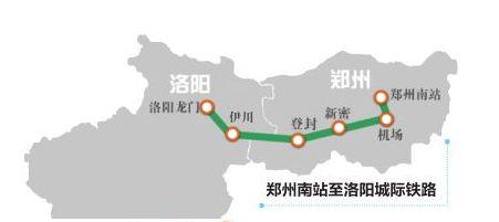 郑登洛城际铁路线路图