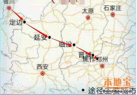 郑银高铁线路走向(经过哪些城市)