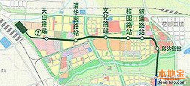 郑州地铁2号线北延长线站点有哪些