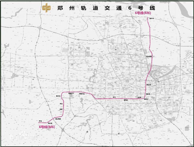 郑州地铁6号线站点有哪些