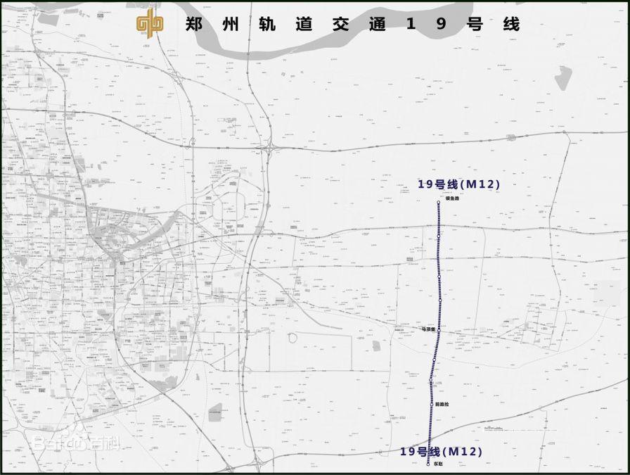 郑州地铁19号线线路图