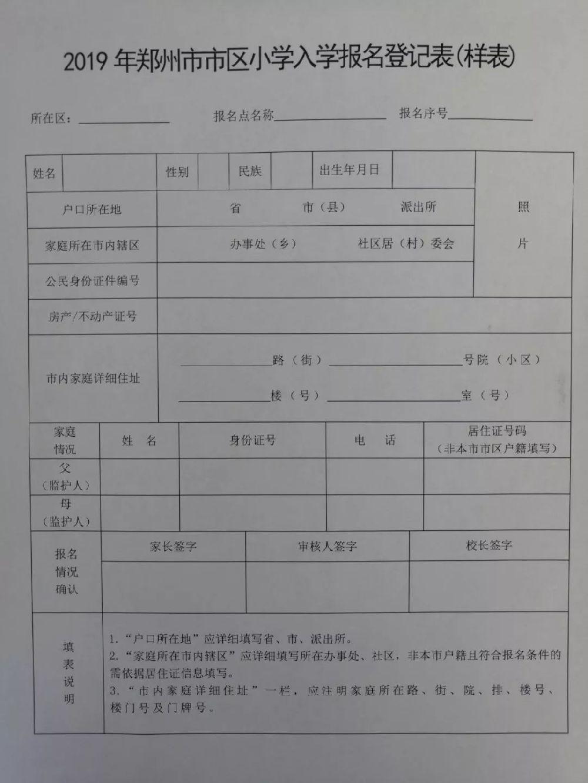2019郑州郑东新区聚源路小学报名指南(附时间划片)